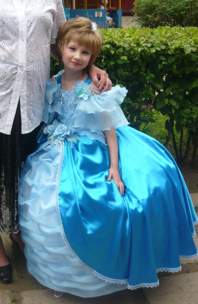 Принцессе сшить королевское платье