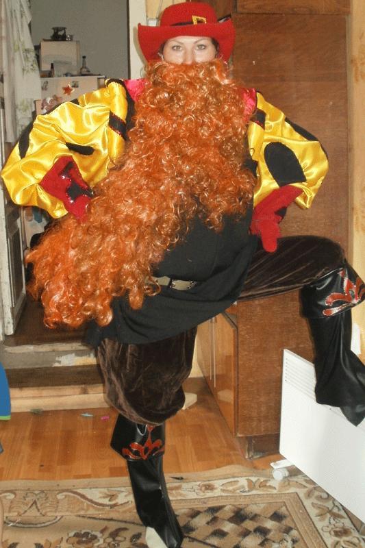 Карабас барабас детский костюм своими руками
