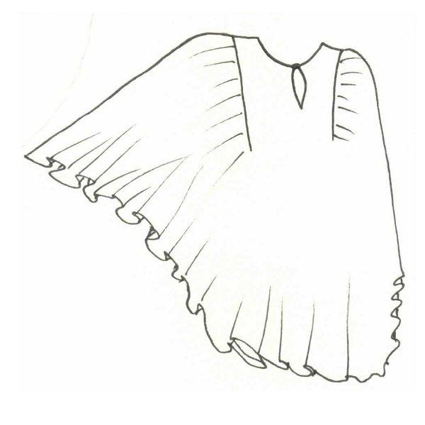 Описание: сшить льняные брюки на полную женщину.