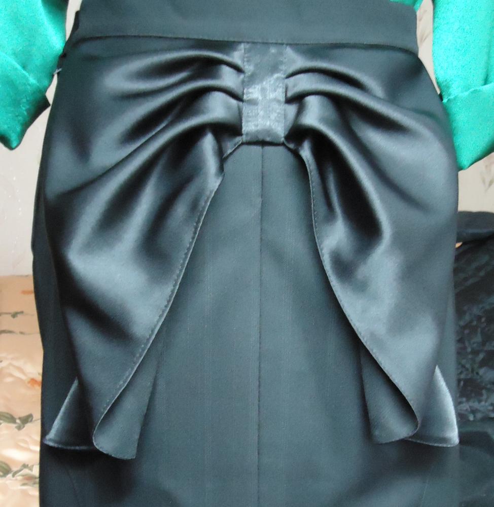 Из какой ткани лучше сшить лучше черное платье