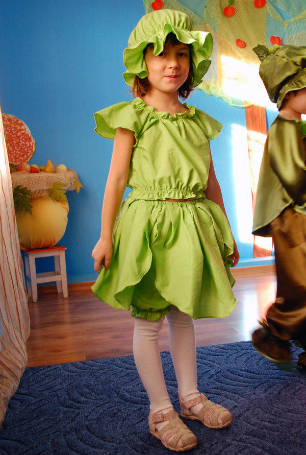 Платье капуста на девочек