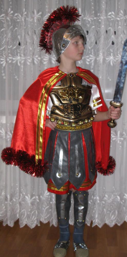 Как сделать костюм воина