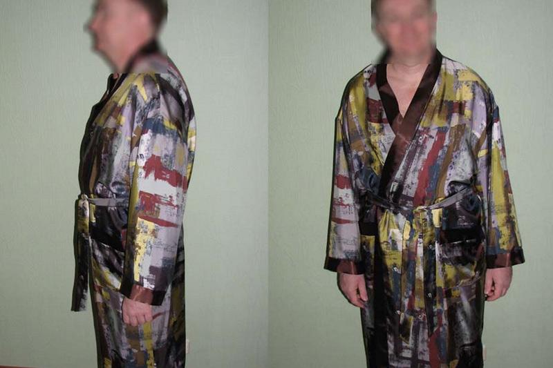 Выкройка халата кимоно фото