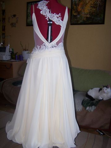 бальное танц. платье