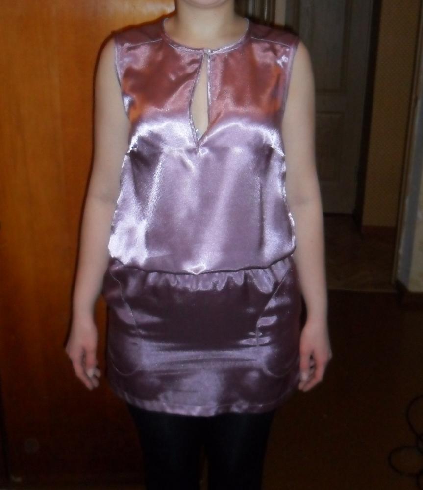 Платье по бурде