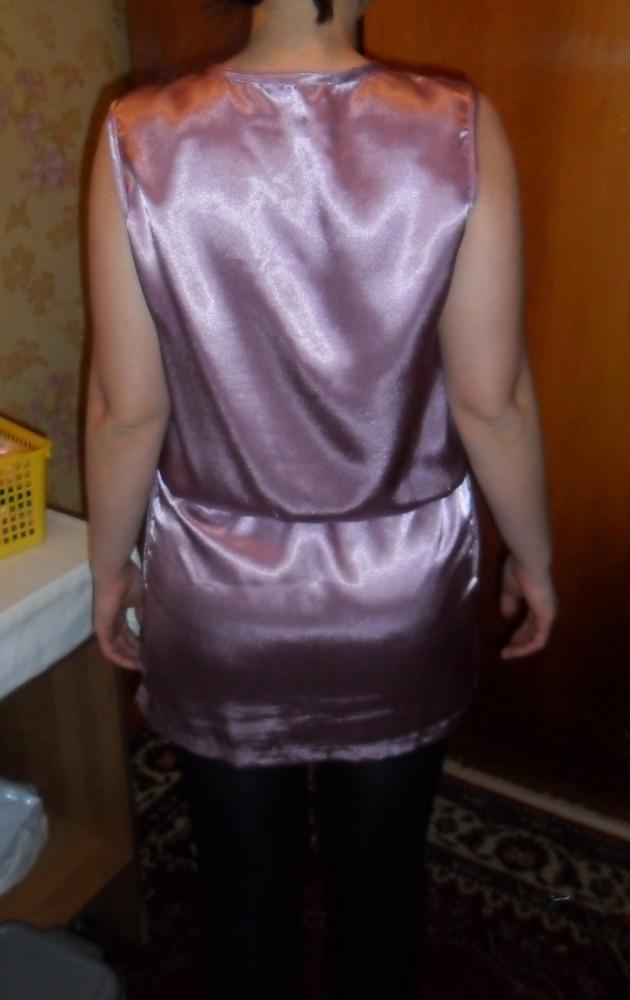 Платье из бурды