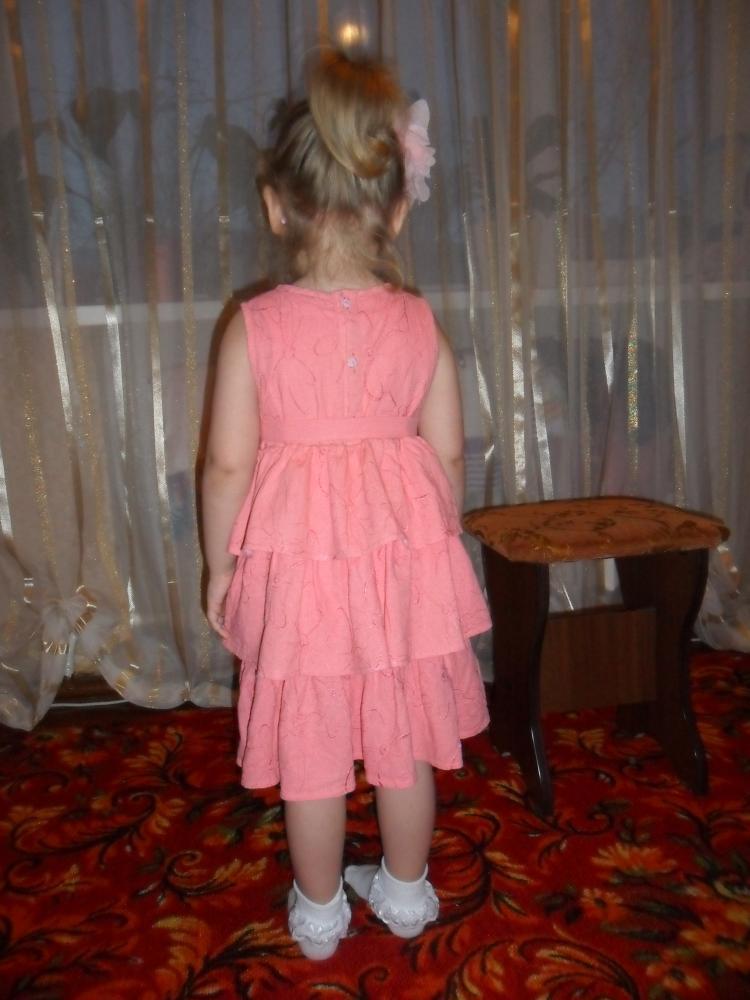 Платье из льна-стрейча