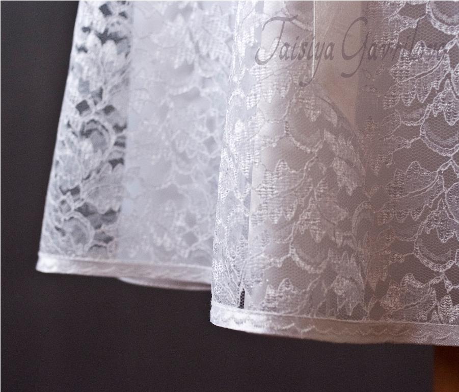 Как обрабатывать горловину кружевного платья