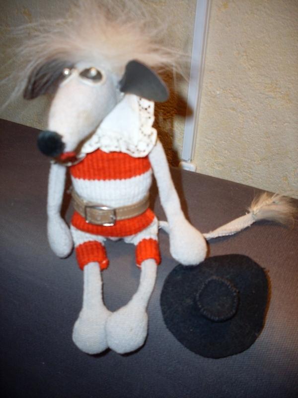 Мышонок-мушкетер