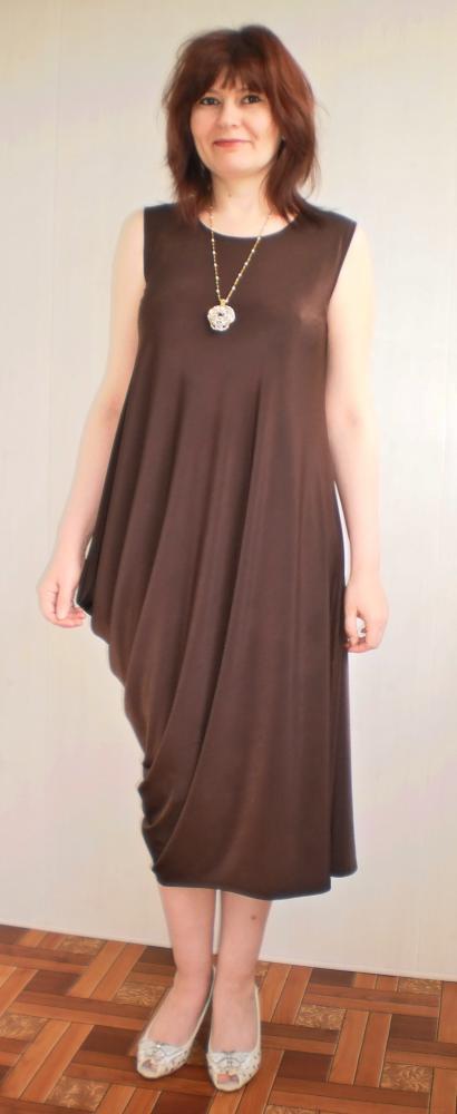 Платье из масла пошить