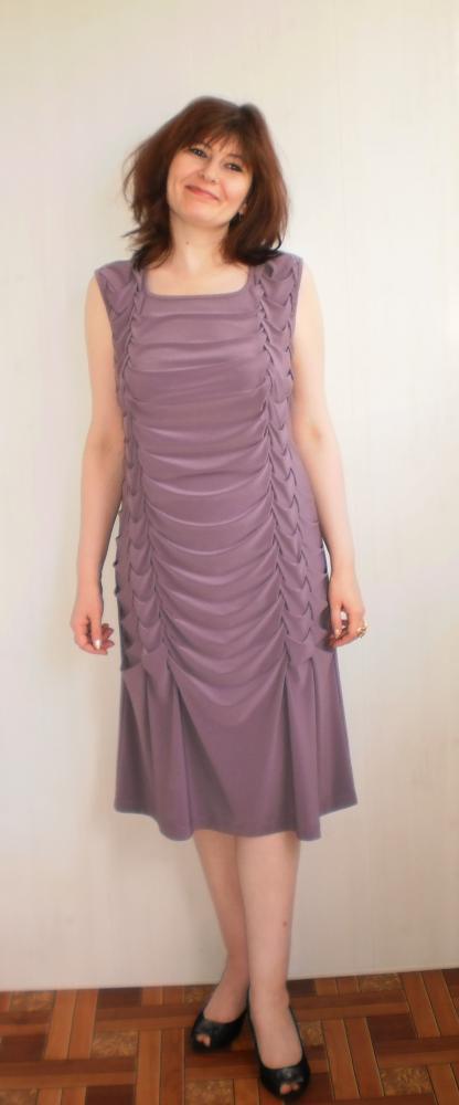 Фото платьев с буфами