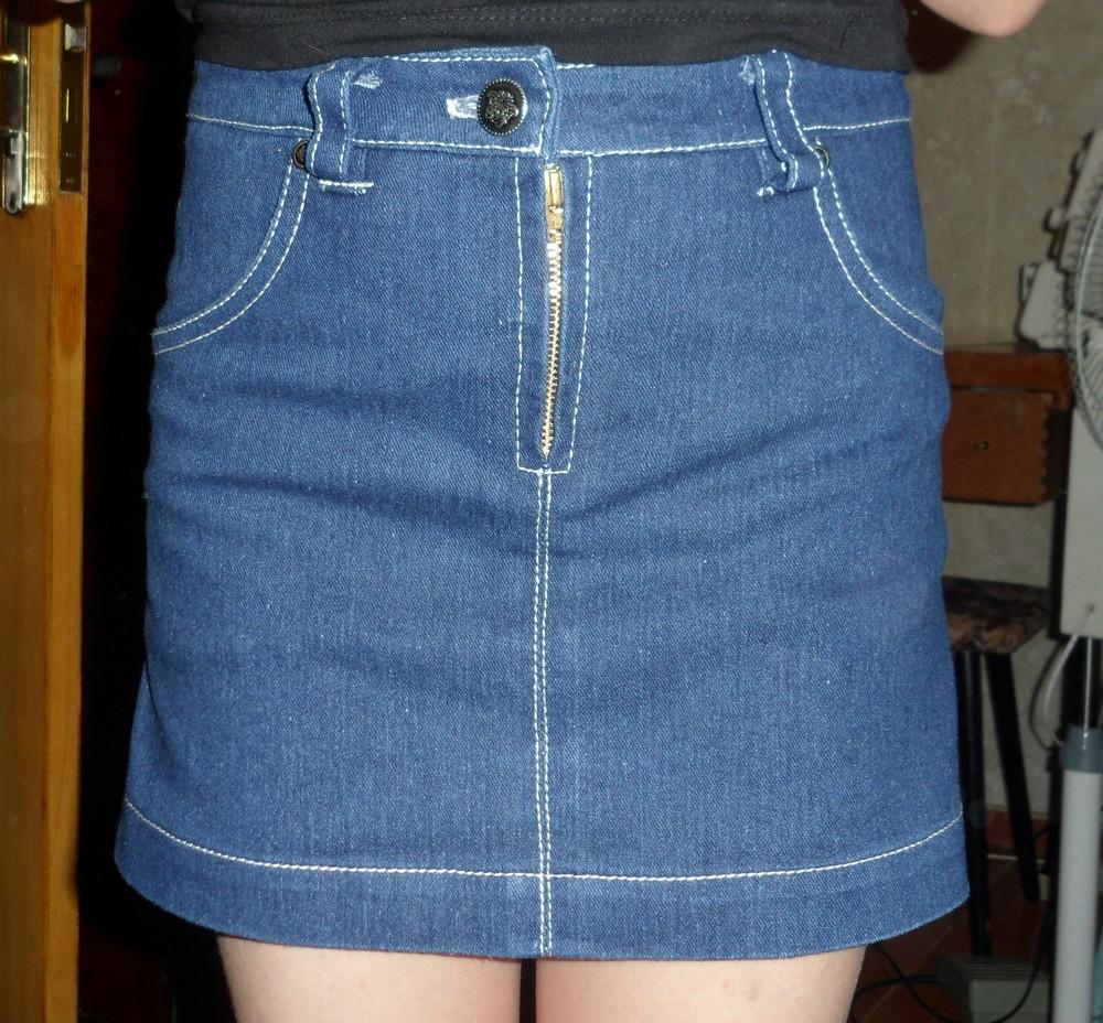 Какую юбку можно сшить из старых джинсов 26