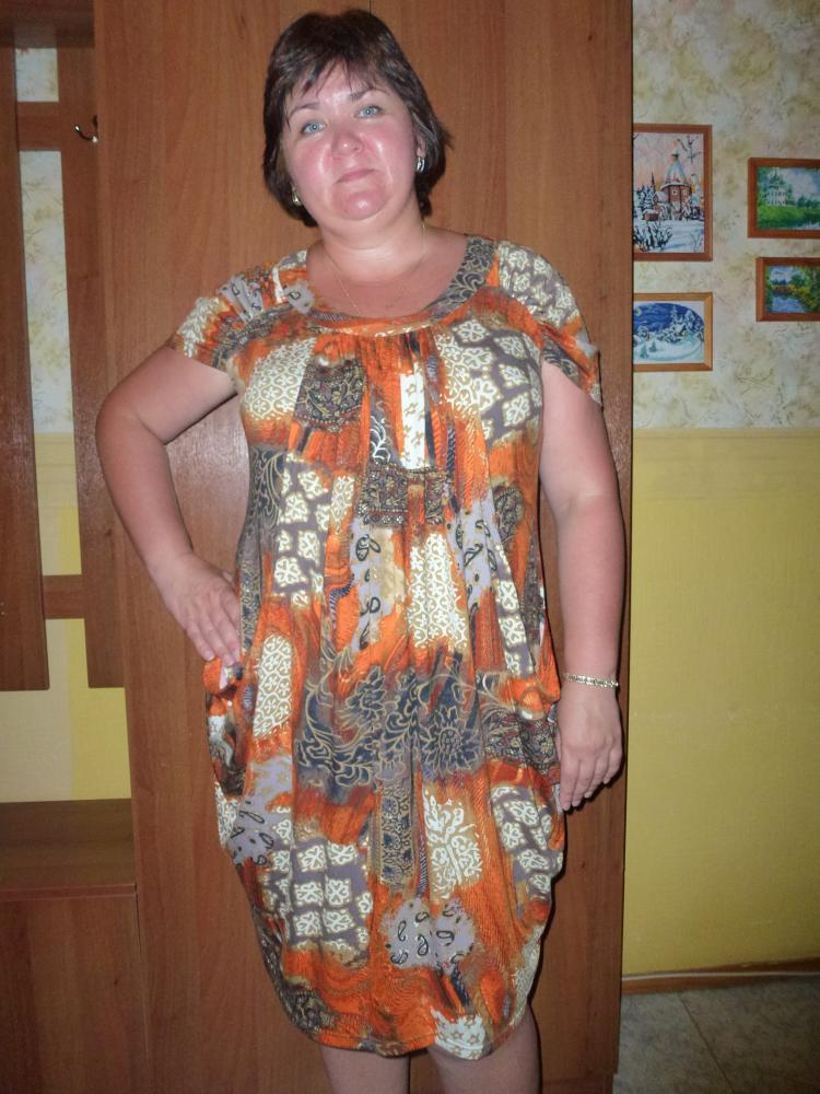 Платье №5982 по выкройкам Леко.