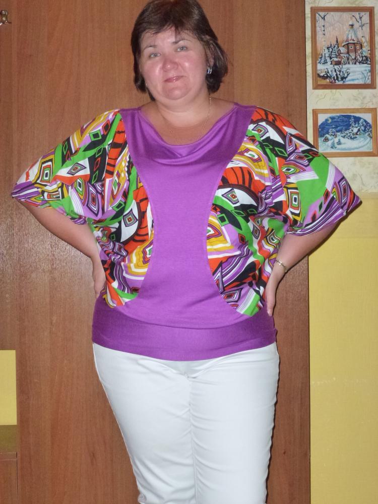 Блузка №5811 по выкройкам Леко.