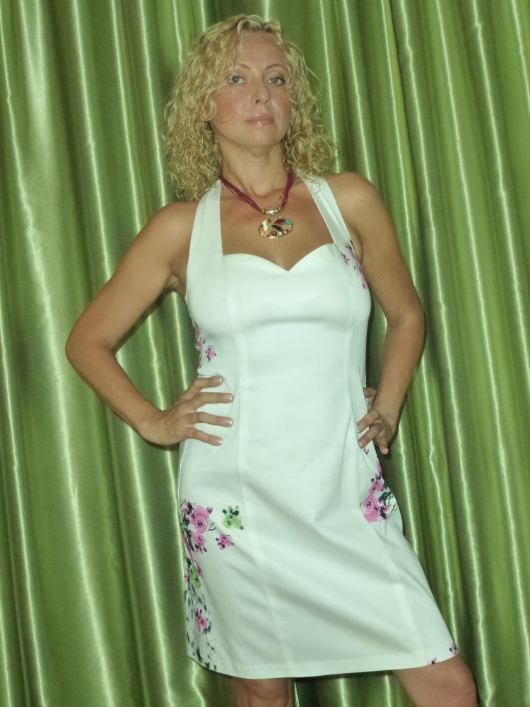 Платье №5203 по выкройкам Леко.