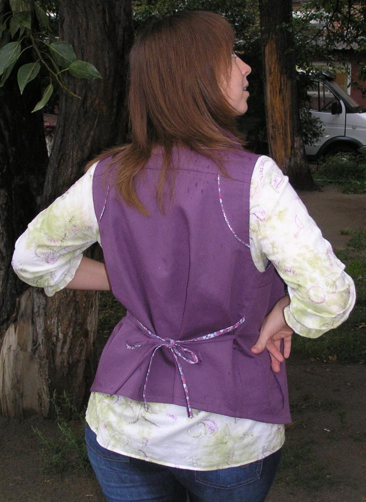 блузка и жилет Pat313_m4-6