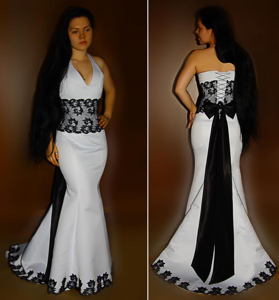 Платье своими руками с корсетом