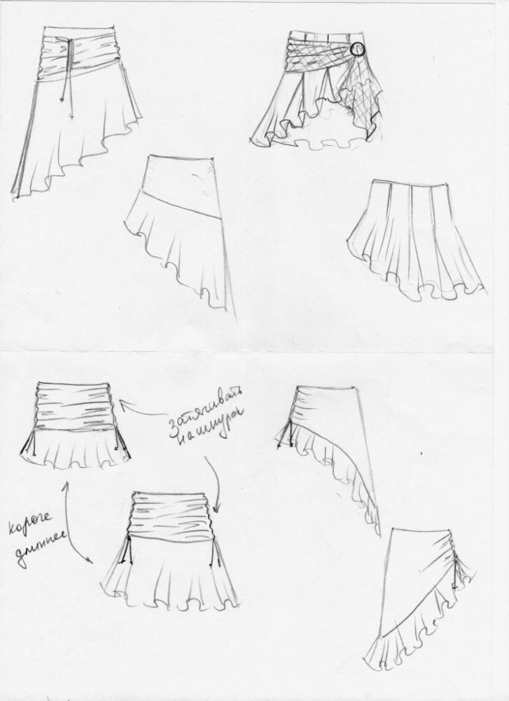 Выкройки платьев для танго