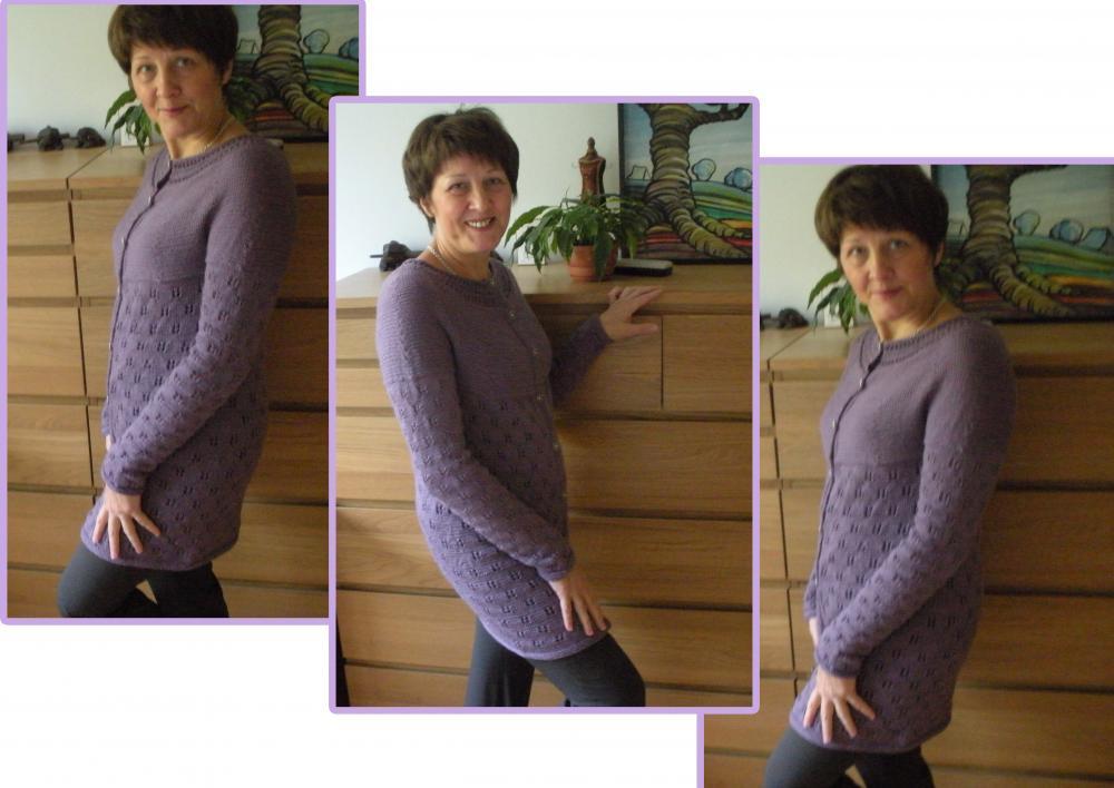 Вязание спицами свитера без швов мастер класс 10