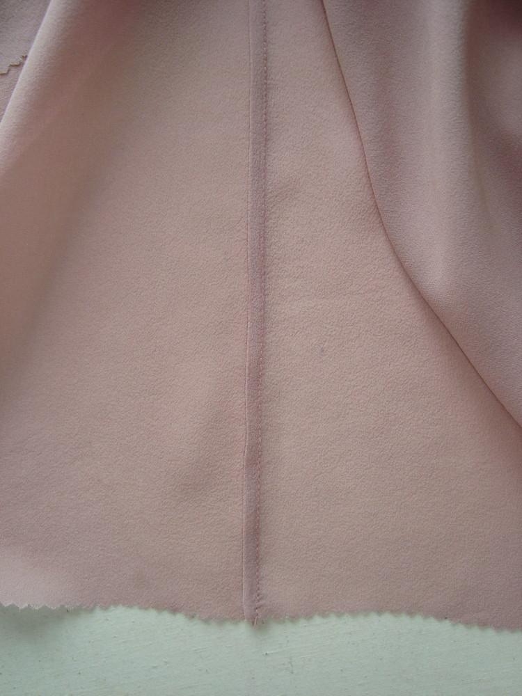 Блуза из крепового шёлка