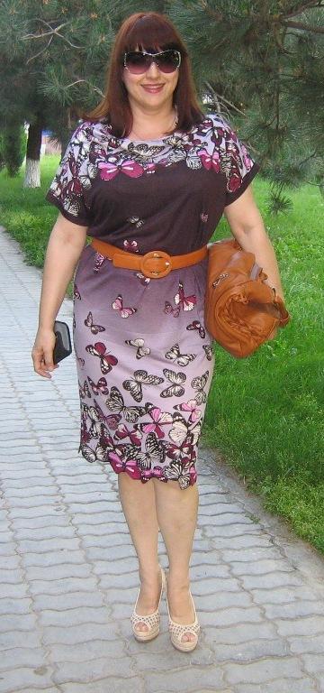 Платье из купона