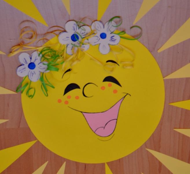 Солнце своими руками схема 582