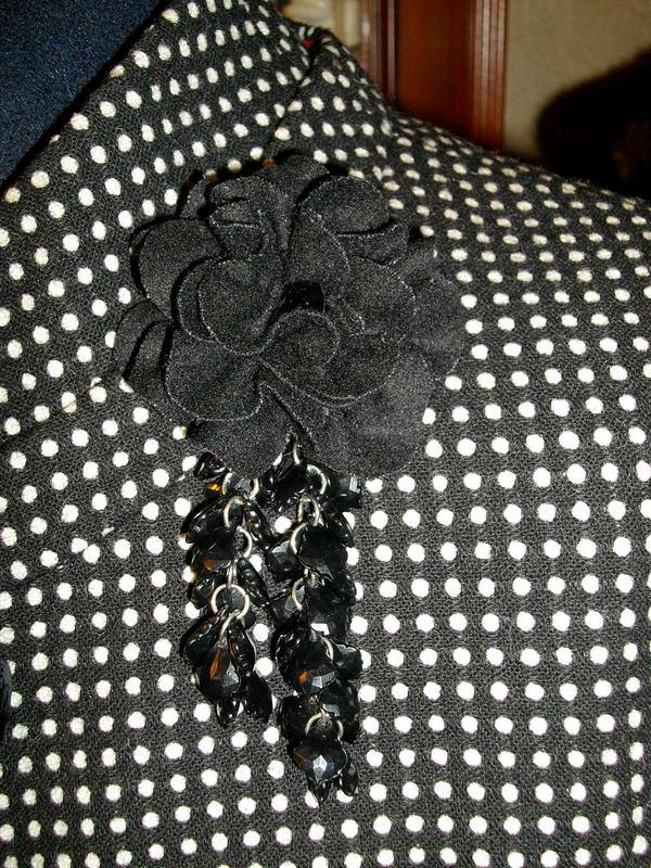 цветок из сукна