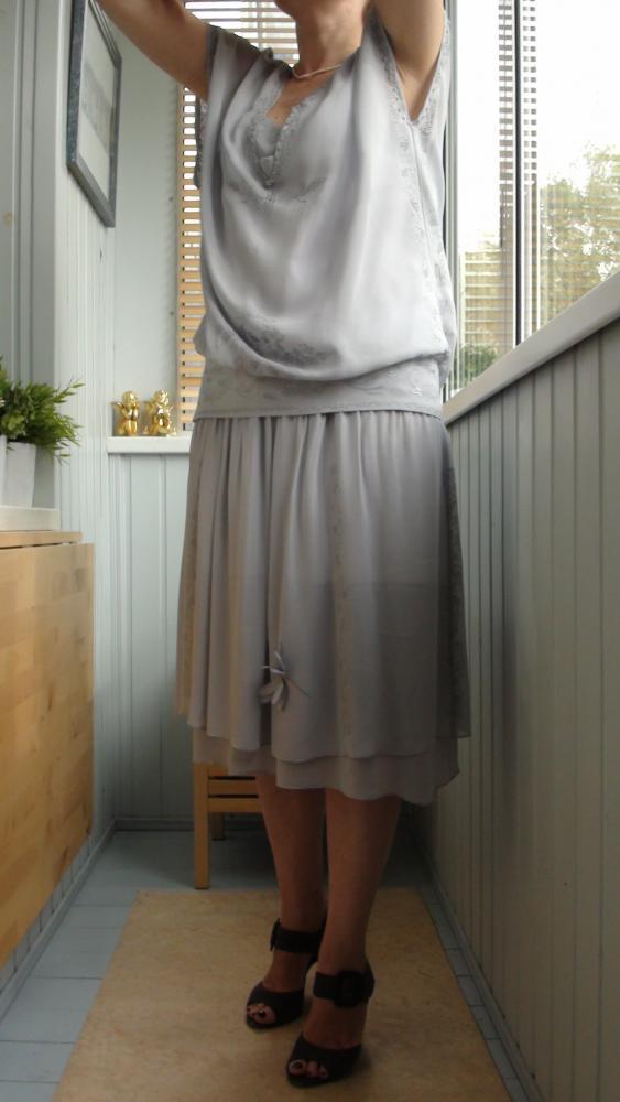 платье в стиле 20-х деталь