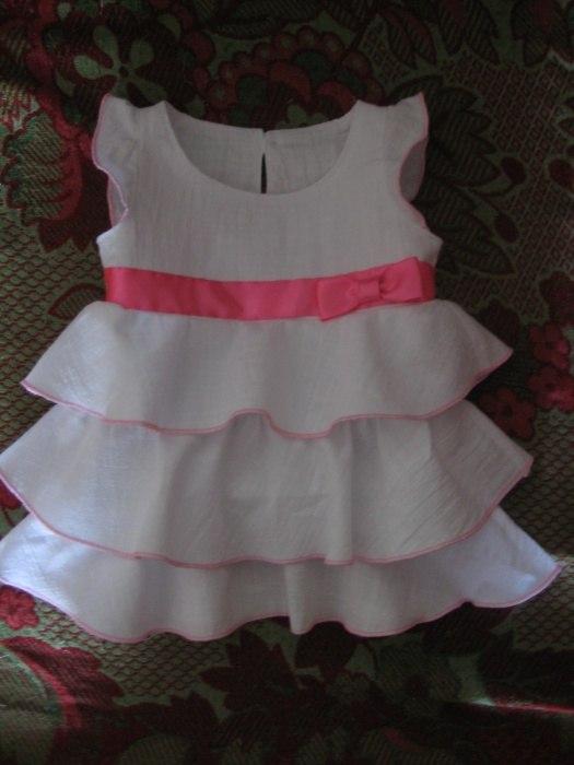 Платье для девочки 4 месяца