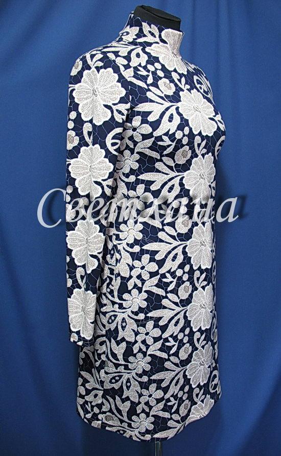 Трикотажное платье ...