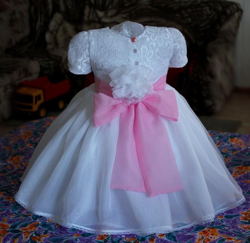 Платье для маленькой девочки))))