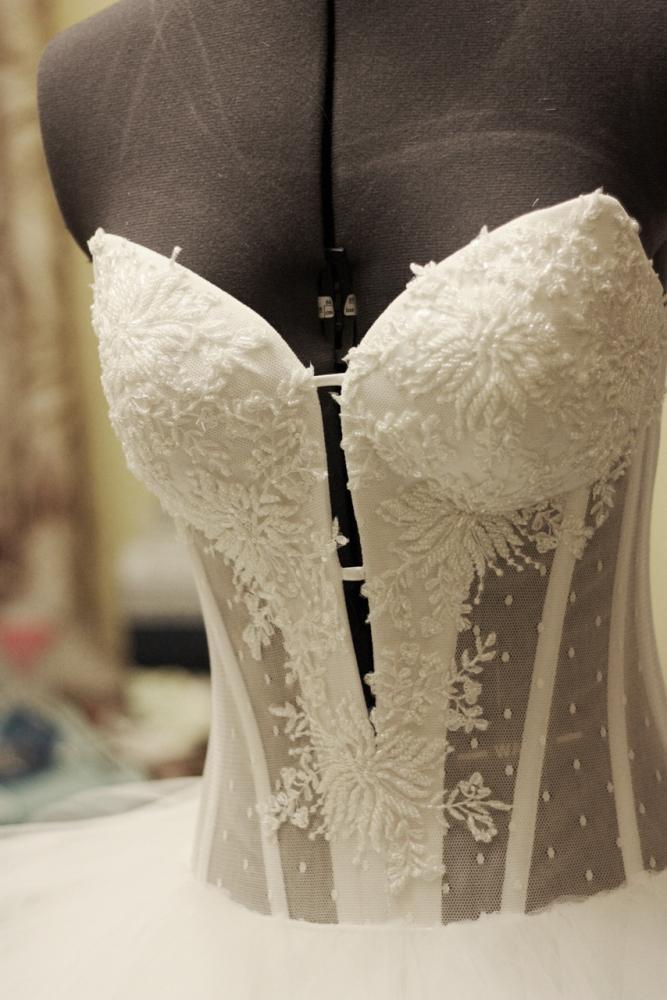 отзыва технология пошива свадебного платья с корсетом изготовление