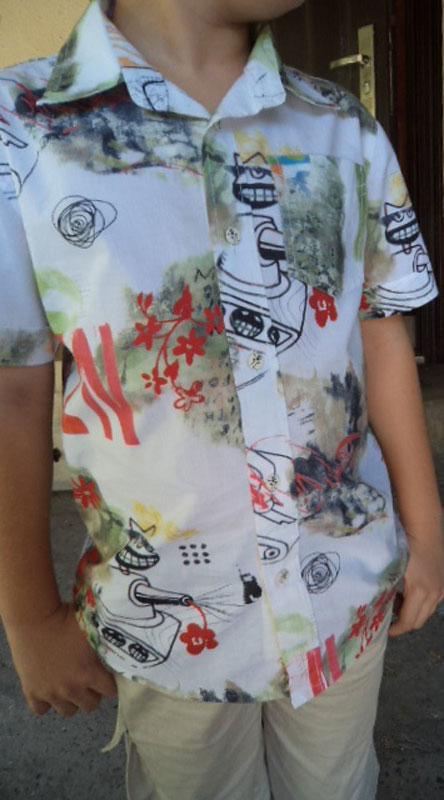 Рубашка и шорты для сыночка