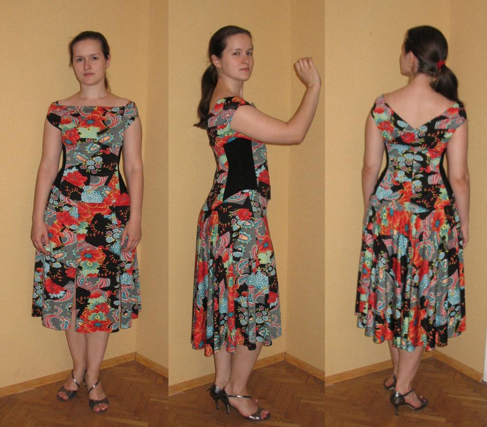 Выкройка клина на платье