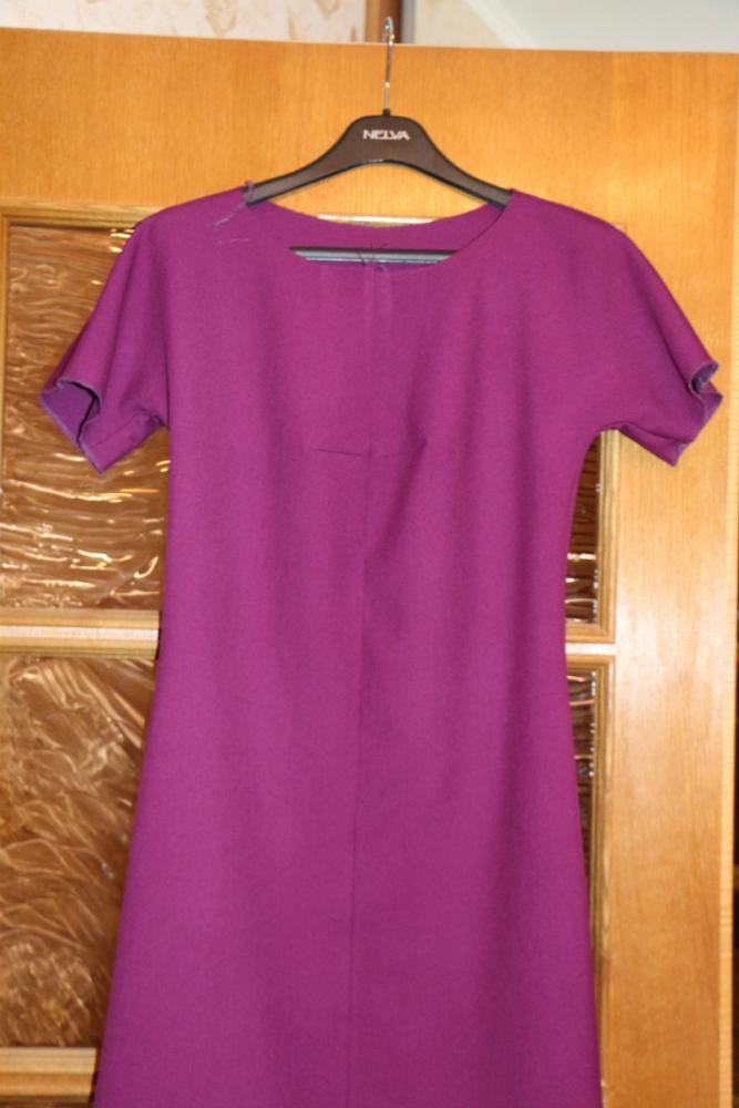Как вшить подклад в платье с рукавами