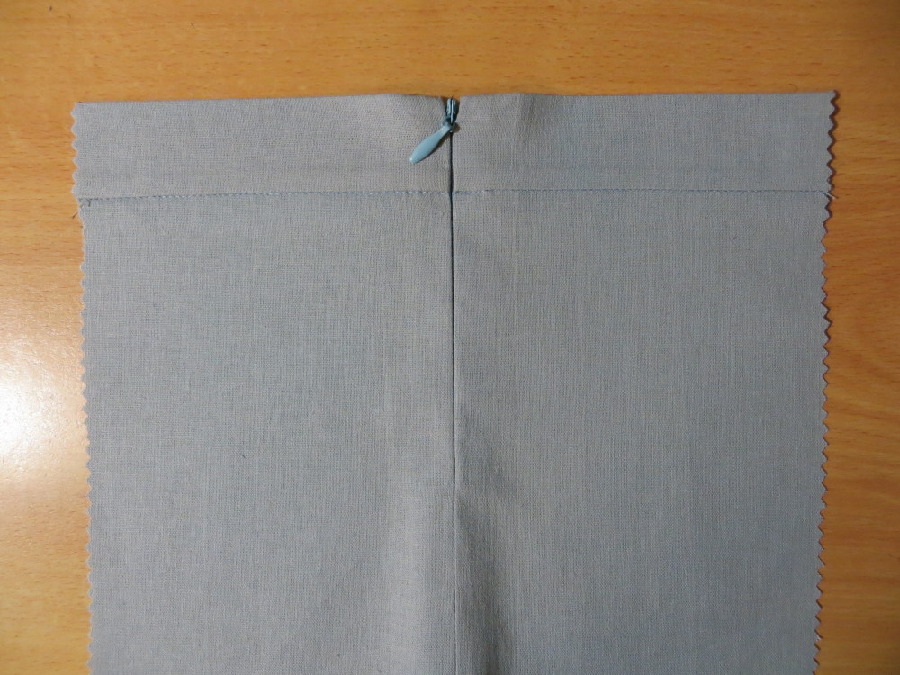 Как сшить юбку без пояса с молнией