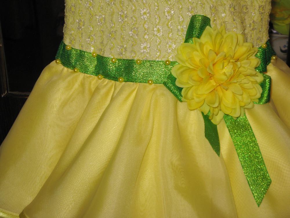 Как сшить платье из атласной ленты 704