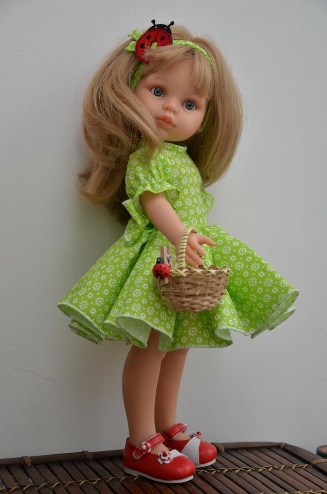 Как сшить короткое платье кукле 970
