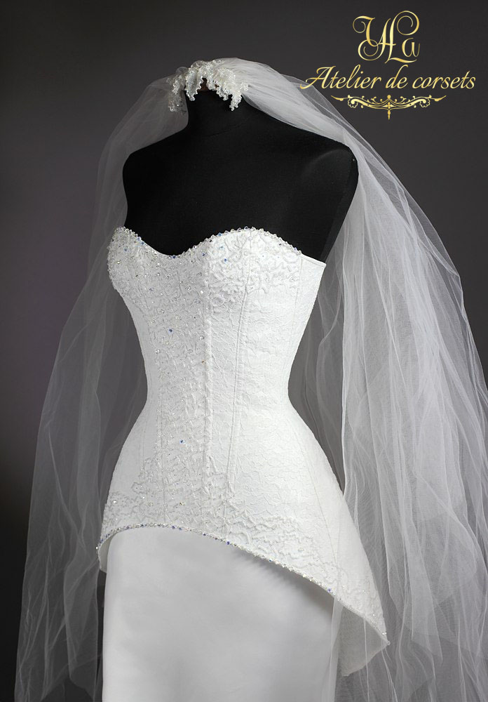 выбирать технология пошива свадебного платья с корсетом вас есть