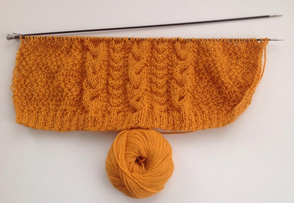 шарф - спицы карбоновые
