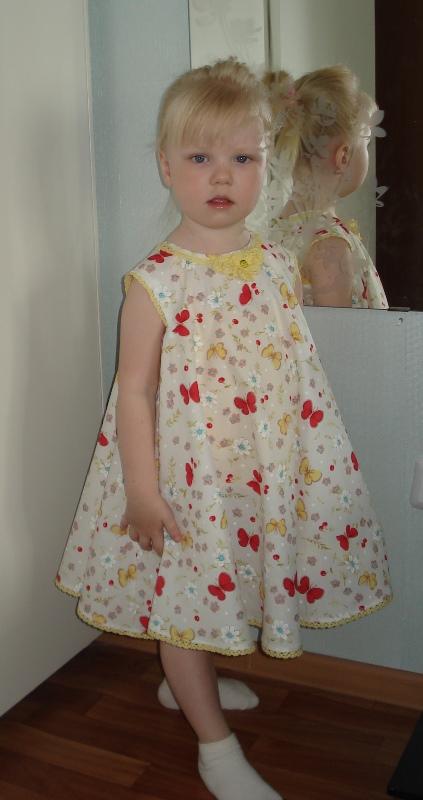 Платье солнце-клеш