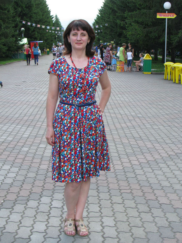 Платье поплин выкройка