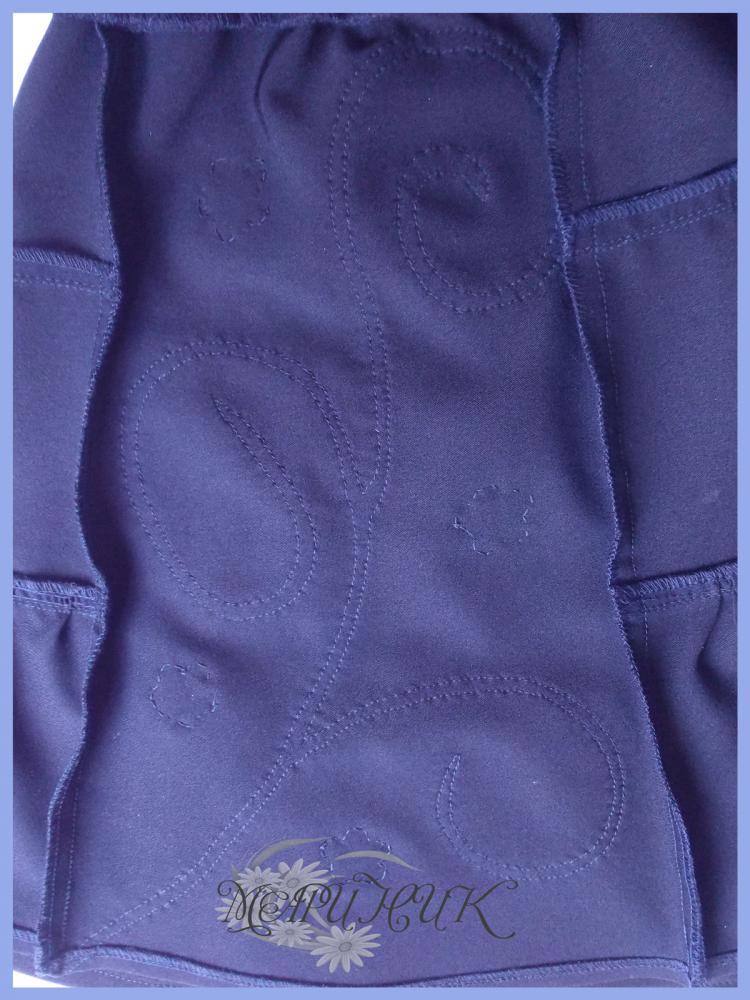 Обработка клина юбки