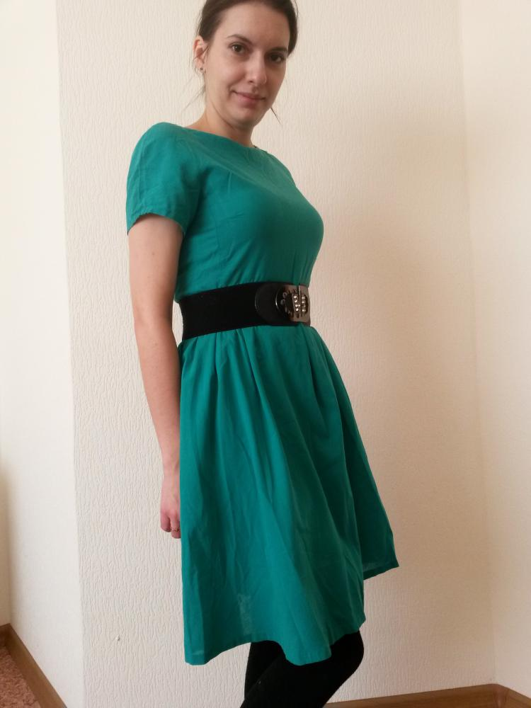 Зеленое платье 2