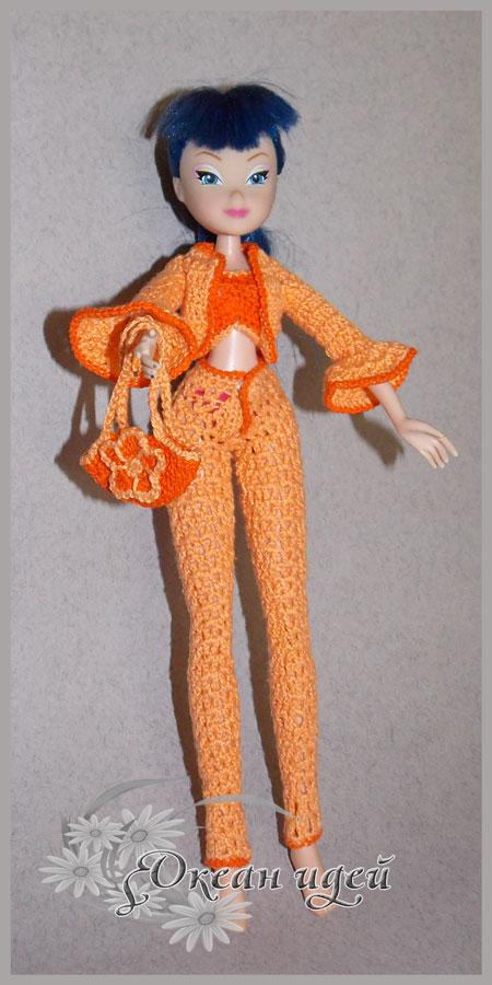 Костюм для куклы Винкс
