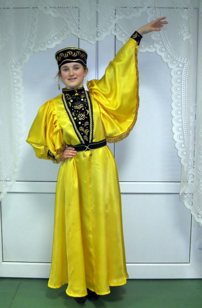 калмыцкий костюм