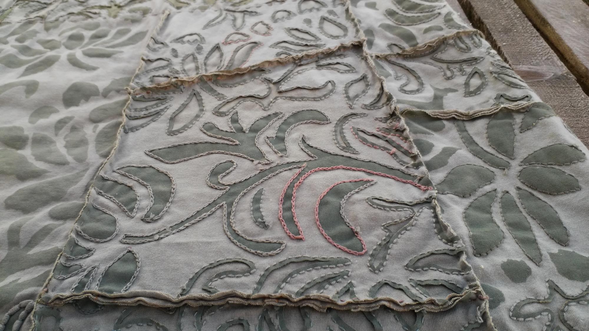 Фрагмент юбки