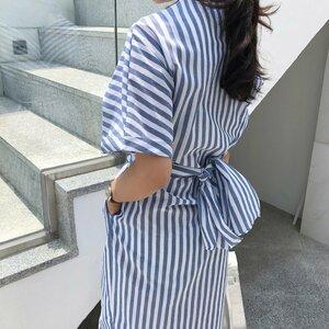 Sashes-Striped-Shirt-Dress-Lady-Short-Sleeve-Straight-Dress-2020-Summer-Pockets-Office-Elegant-Split-Long-2.jpg