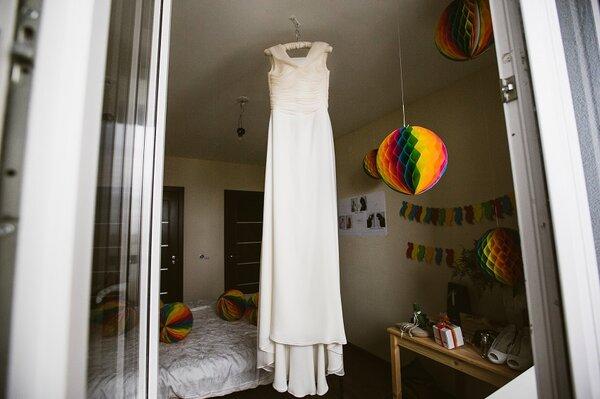 Платье для очень красивой невесты