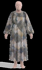 Платье из батиста с рукавами летучая мышь0.png